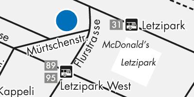 Plan Zürich Altstetten