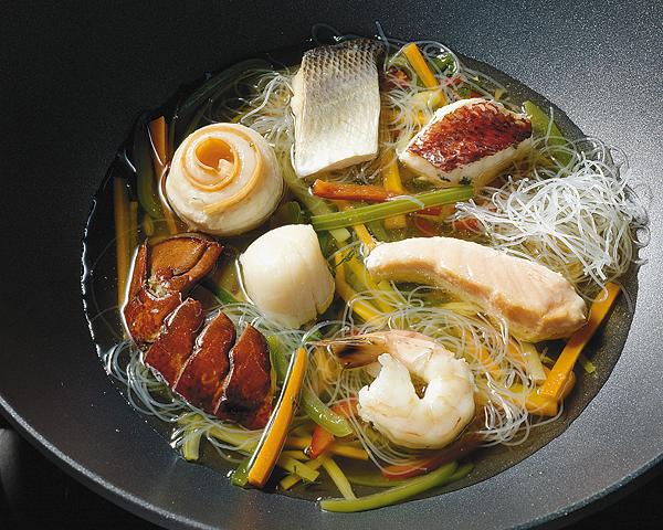 Fisch-Küche Tisch