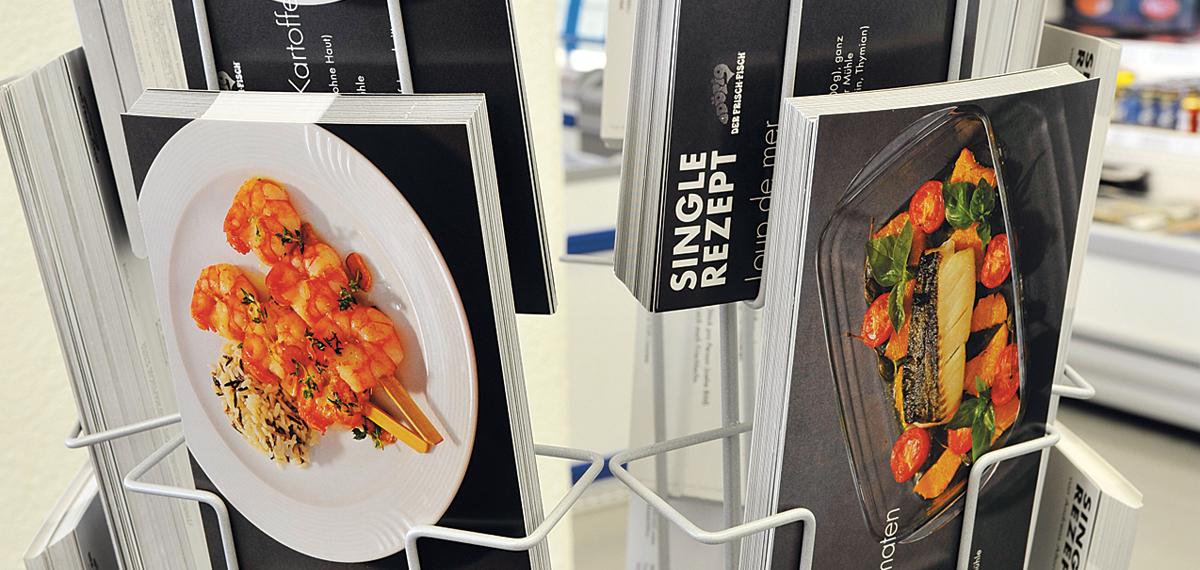 Fisch-Küche Rezeptkarten