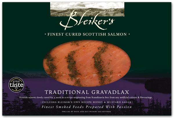 Bleiker's Traditional Gravadlax