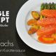 Frischlachs mit Orangen-Karottensauce
