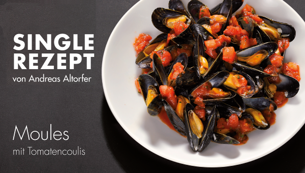 Moules mit Tomatencoulis