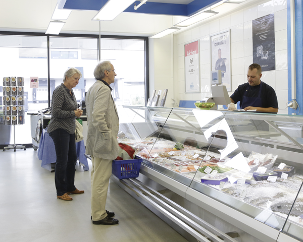 im Frisch-Fisch Mercato
