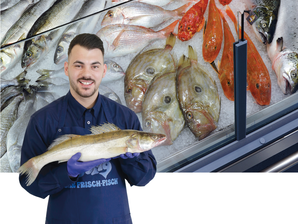 Dimitrios Gogis, Leiter Fischabteilung Jelmoli FOOD MARKET