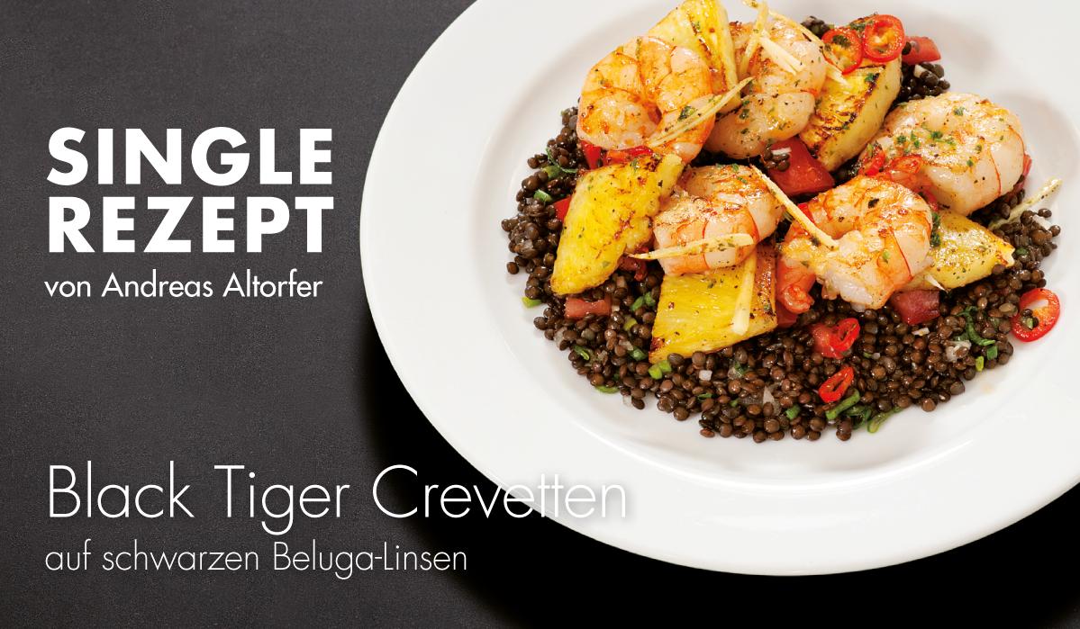 Rezept Black Tiger Crevetten