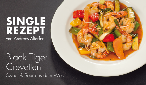 Black Tiger Crevetten Sweet & Sour