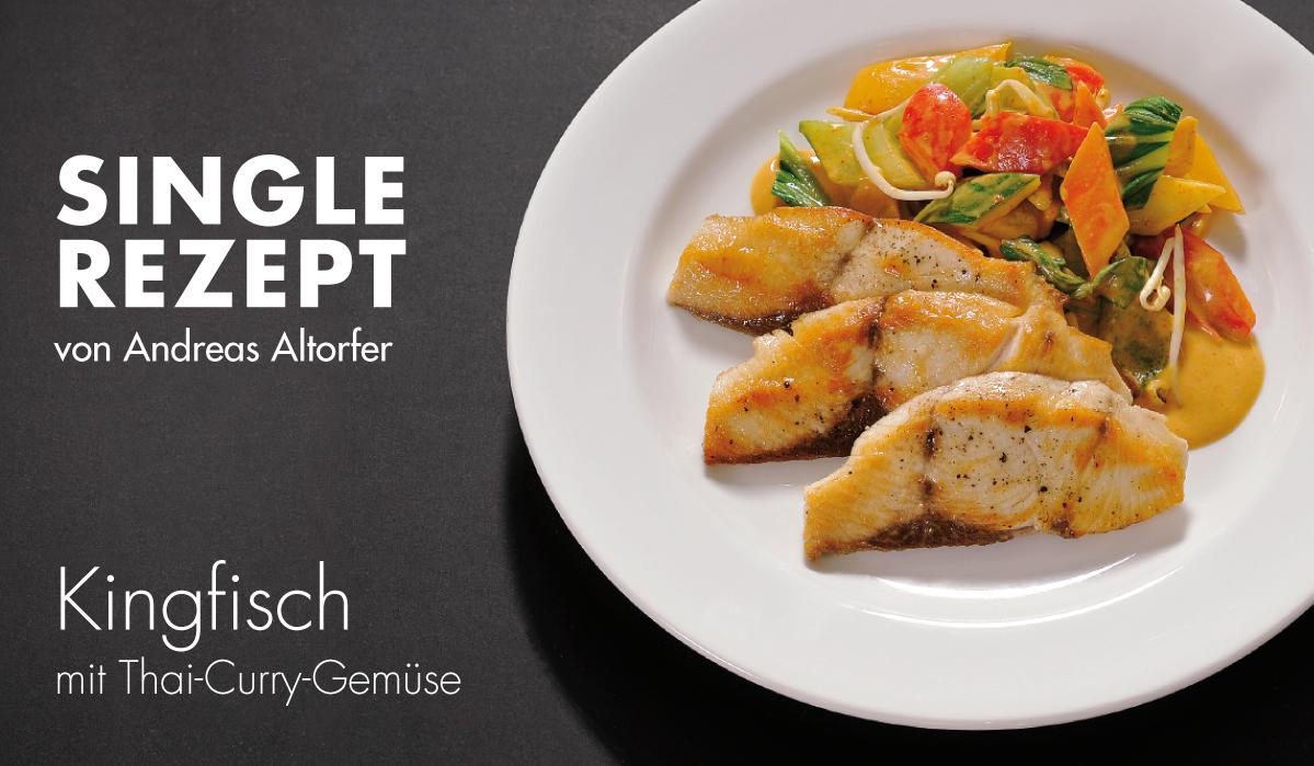 Rezept Kingfisch mit Thai-Curry