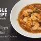 Rezept: Black Tiger Crevetten in Zwiebelsuppe mit Croûtons