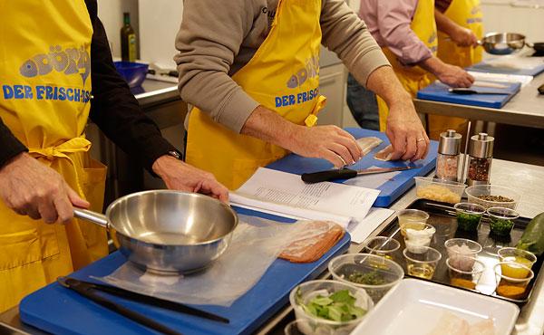 Kochkurs Kochen nach Anleitung